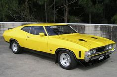 """The very popular Camrao A favorite for car collectors. The Muscle Car History Back in the and the American car manufacturers diversified their automobile lines with high performance vehicles which came to be known as """"Muscle Cars. Australian Muscle Cars, Aussie Muscle Cars, American Muscle Cars, Ford Falcon, Ford Gt, Ford Mustang, Cleveland, Ford Torino, Ford Classic Cars"""