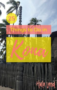 25 Things to Do in Kona, Big Island - Hulaland Honeymoon Vacations, Hawaii Honeymoon, Hawaii Vacation, Hawaii Trips, Vacation Ideas, Disney Honeymoon, Hawaii Wedding, Honeymoon Destinations, Kona Island