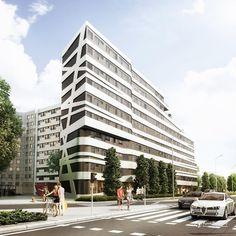 Starter II - nowe mieszkania na sprzedaż Wrocław, Śródmieście, Plac Grunwaldzki - Dolnośląskie Inwestycje S.A - RynekPierwotny.pl