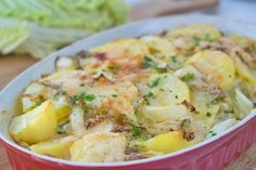 Kartoffel-Chinakohl-Gratin - Rezept