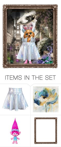 """""""Me & my pup"""" by sherlinredrossa ❤ liked on Polyvore featuring art"""