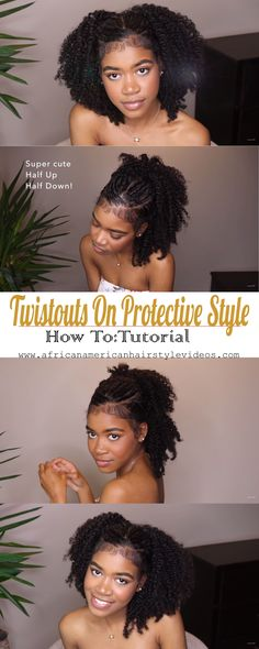 Protective Style To Twist Outs - If Your Tired Of Protective Styling, Then Why . Protective Style To Twist Outs - If Your Tired Of Protective Styling, Then Why Not Turn It Into Your Favorite Twist O Chunky Twist Out, Chunky Twists, Flat Twist Out, Natural Twists, Twist Out Styles, Braid Styles, Scene Hair, Sisterlocks, Natural Hair Tips