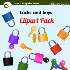 Graphics pack : Keys by MissionMummy Art File, Teacher Newsletter, Art Music, Keys, Packing, Clip Art, Graphics, Digital, Projects