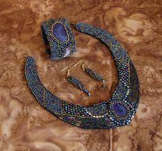 The Night Out necklace set by Dinglefritz on Zibbet