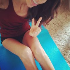 #sillyselfie about to do some at home #yoga practice <3 feeling good today :) at first yoga made me feel uncomfortable being so i touch with my body, now I attend a class at least once a week and sometimes do a little on my own! I have found it to be so beneficial to my recovery #yogini #edrecovery #loveyourbody #bekindtoyourbody #prorecovery #musclesoverbones #strongnotskinny #nopurging #nourishnotpunish #workitout #loveyourself #embraceyourbody #fitnotsick #skinnytofit #healthyliving ...