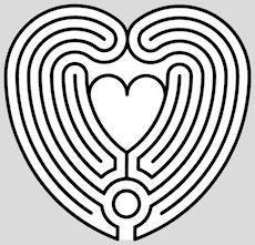 Prayer labyrinth design