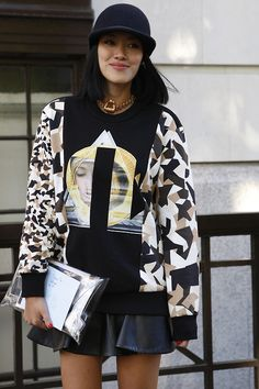 Street Style at LFW S'14. Photo by Anthea Simms.