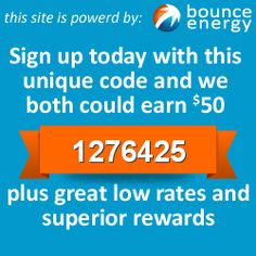 Bounce Energy - we have been with them about a year now and love the customer service and cheap rates!