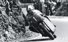 Giacomo Agostini rocks his 350cc MV Agusta in the former Yugoslavia