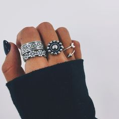 Antique Floral Ring