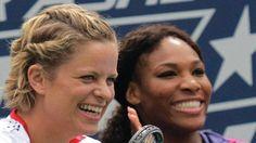 No Player as Big as Serena Williams: Kim Clijsters - http://www.tsmplug.com/tennis/no-player-as-big-as-serena-williams-kim-clijsters/