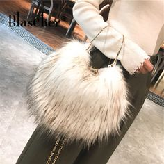 Cheap Shoulder Bags, Buy Directly from China Suppliers:Blascher 2017 Winter Women Handbags Faux Fur Bags High Quality Ladies Crossbody Bags Fashion Solid Female Flap Bags SCB19