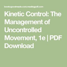 Ebook name anatomy and physiology author seeley stephens tate kinetic control the management of uncontrolled movement 1e pdf download fandeluxe Image collections