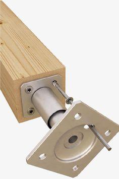 Apoyo de pilar, prefabricado