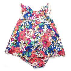 b627a1668 Vestido Jambo Crochet. Acessórios Para BebêVestido SoltinhoRoupasTopos ...