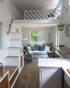 "105 Likes, 14 Comments - Tri Trinh (@luckeytri) on Instagram: ""Day one of my tiny house test! I am madly in love with this #tinyhouse by @liberation_tiny_homes!!!…"""