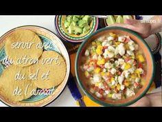 Recette de ceviche mexicain à la mangue - YouTube