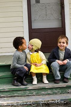 Jesus loves the little children of the world. They are color blind; please don't teach your children to hate.