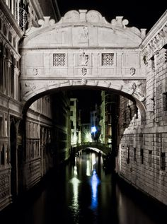 Bridge of Sighs -Venice