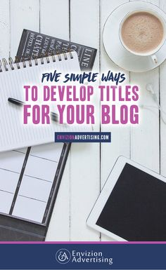 You may create your own blog, but how do you plan to maintain it? http://www.envizionadvertising.com/tips-tricks/5-simple-ways-to-develop-titles-for-your-blog/