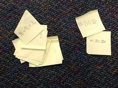 """Today's blog post is about using sticky notes to """"take the temperature"""" of the class . . . give it a try!"""