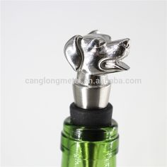 Check out this product on Alibaba.com App:new designed dog shape stainless steel fancy decorative wine stoppers https://m.alibaba.com/UJjQ3e