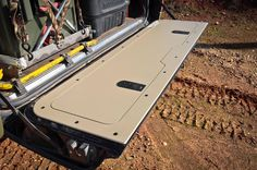 Tailgate storage panel for the 80 #4x4 #offroad #Grime #dubstep