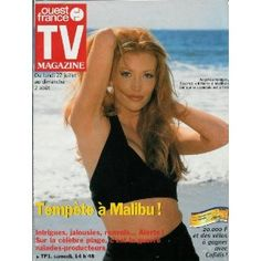 Angelica Bridges Alerte à Malibu par qui le scandale est arrivé, dans TV Magazine Ouest-France du 25/07/1998 [couverture isolée mise en vente par Presse-Mémoire]