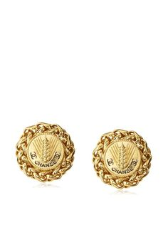 CHANEL Large Wheat Earrings, http://www.myhabit.com/redirect/ref=qd_sw_dp_pi_li?url=http%3A%2F%2Fwww.myhabit.com%2F%3Frefcust%3DG6B2VYX5VBZZU6YHSI4REICL7U%23page%3Dd%26dept%3Dwomen%26sale%3DA1TPNSYUFKT5OF%26asin%3DB00EAM36BE%26cAsin%3DB00EAM36BE