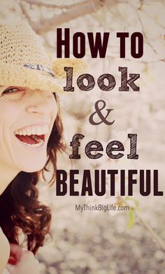 Have you ever wondered how to feel absolutely beautiful? Combine a beautiful inside with some effort on the outside and you will soon look and feel beautiful yourself. #beauty, #realbeauty, #feelbeatiful, #howtofeelbeautiful