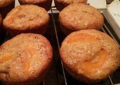 Barackos, zabpelyhes muffin