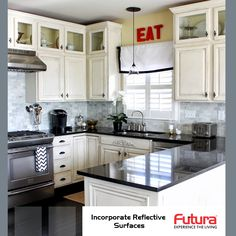 Check out to make the most of a small kitchen with these compact design ideas. For more details Visit: http://www.futurainterior.com/ #FuturaInterior #ModularKitchen #ModularKitchenBangalore #DesignIdeas #Kitchen #SmallKitchen