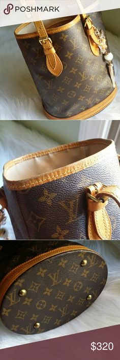 Additional photos for LV bucket PM See original listing for more details, Louis Vuitton Bags Totes