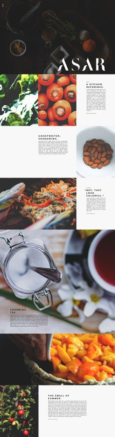 Simplification for Sophistication. Website Design Inspiration, Graphic Design Inspiration, Wordpress Website Design, Information Design, Recipe Sites, Landing Page Design, Book Layout, Graphic Design Branding, Interface Design