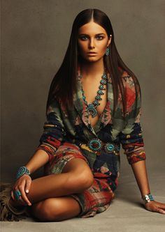 Ralph Lauren has been a Connoisseur of fine American Indian Art from the Southwest with great taste!