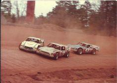 Vintage dirt late model racing