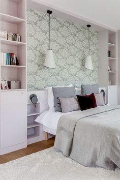 Room Storage Practical Planning Ideas Rangement chambre id es am nagement pratique Cupboards and shelves disappear in the refined decor of this room Decor, Best Bedroom Paint Colors, Bedroom Decor Design, Bold Bedroom Paint, Home Decor, Bedroom Paint, Dressing Room Design, Interior Design Bedroom, Bold Bedroom