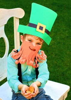 These Photos Of A RealLife Baby Leprechaun Will Make Everyone - Dad turns his 6 month old son into real life leprechaun for st patricks day