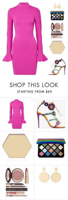 """Untitled #5355"" by mdmsb on Polyvore featuring MICHAEL Michael Kors, Christian Louboutin, Puma, Charlotte Tilbury and Mateo"