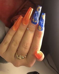Designing your fingernails or toenails can be a lot of fun. It will make a fashion statement. Look at the hottest trends and styles to help keep you up-to-date. Sexy Nails, Dope Nails, Bling Nails, Trendy Nails, Fun Nails, Stiletto Nails, Perfect Nails, Gorgeous Nails, Nail Candy