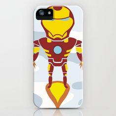 Tony's Flight iPhone & iPod Case