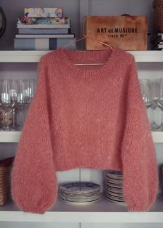 Pullover, Knitting, Sweaters, Diy, Clothes, Fashion, Outfits, Moda, Clothing