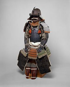 Armor of the Gusoku type, made by Bamen Tomotsugu, Japan, 18th century