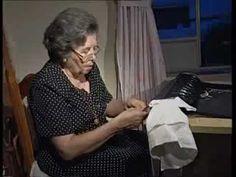 Flecando nuestro mantoncillo de flamenca HD - YouTube