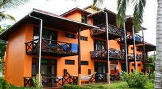 View of apartments & verandas.