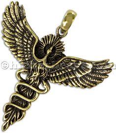Bronze Phoenix Pendant