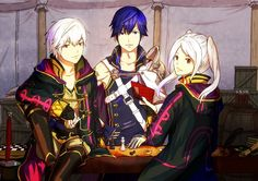 Fire Emblem: Kakusei fan art, Chrom, Rufure