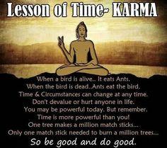 Budda good.. Very well said.