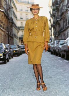 1986 - Yves Saint Laurent Couture suit