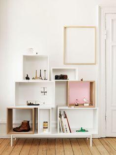 Die Suche nach einem neuen Bücherregal: MUUTO Stacked oder IKEA Valje?   KITCHENTABLENOTE